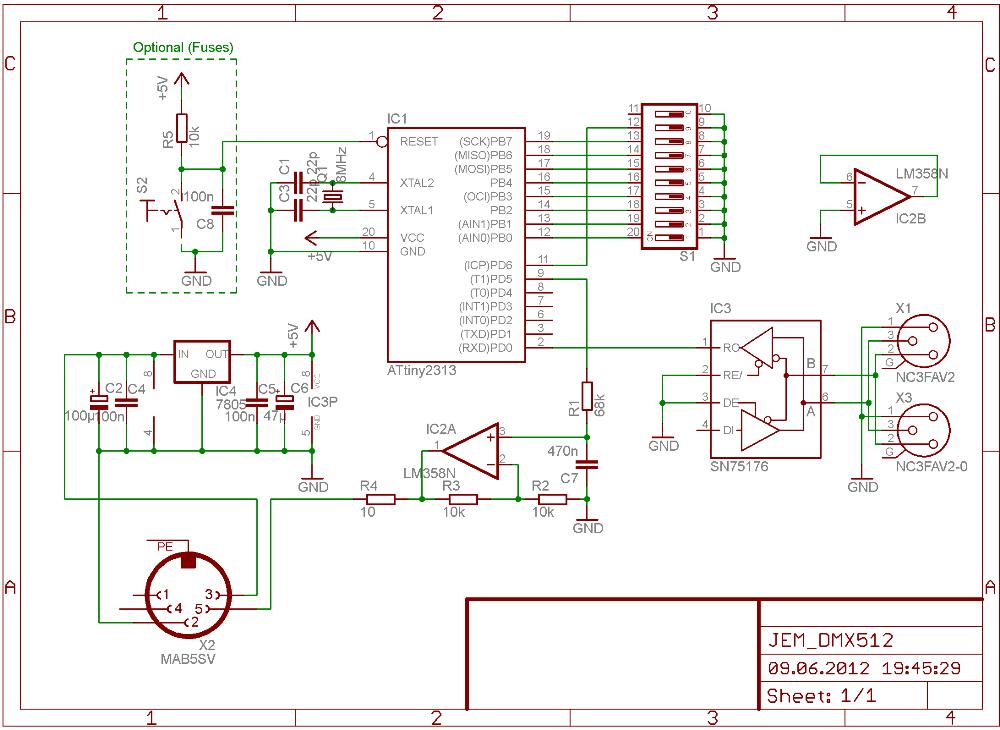 Electronic Labs - DMX für JEM Nebelmaschine